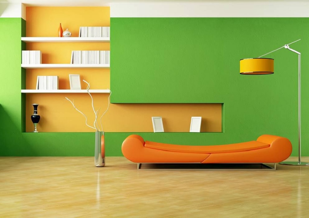 Green Color In Interior Design