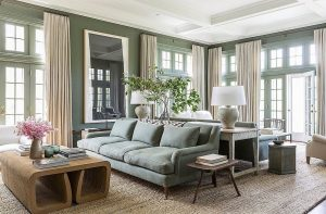 How to furnish a large living room