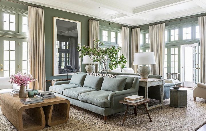 How to furnish a large living room, 10 infallible tips