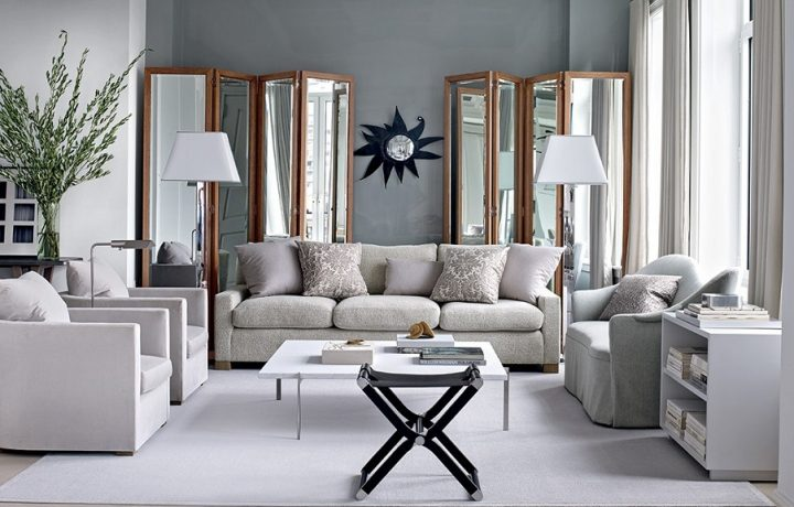 Interior design with beautiful gray floors to fit any room