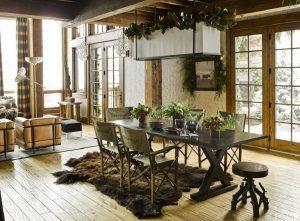 Rustic house interior design