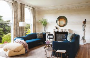 interior designer has to change a space completely