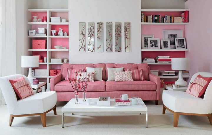 The pink color in interior design – Original tips and ideas