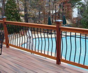 replace deck railing