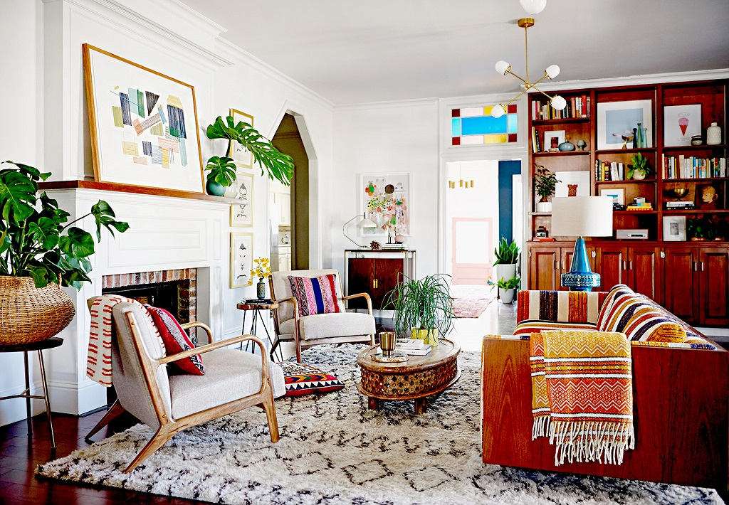 perfectly decorate your living room