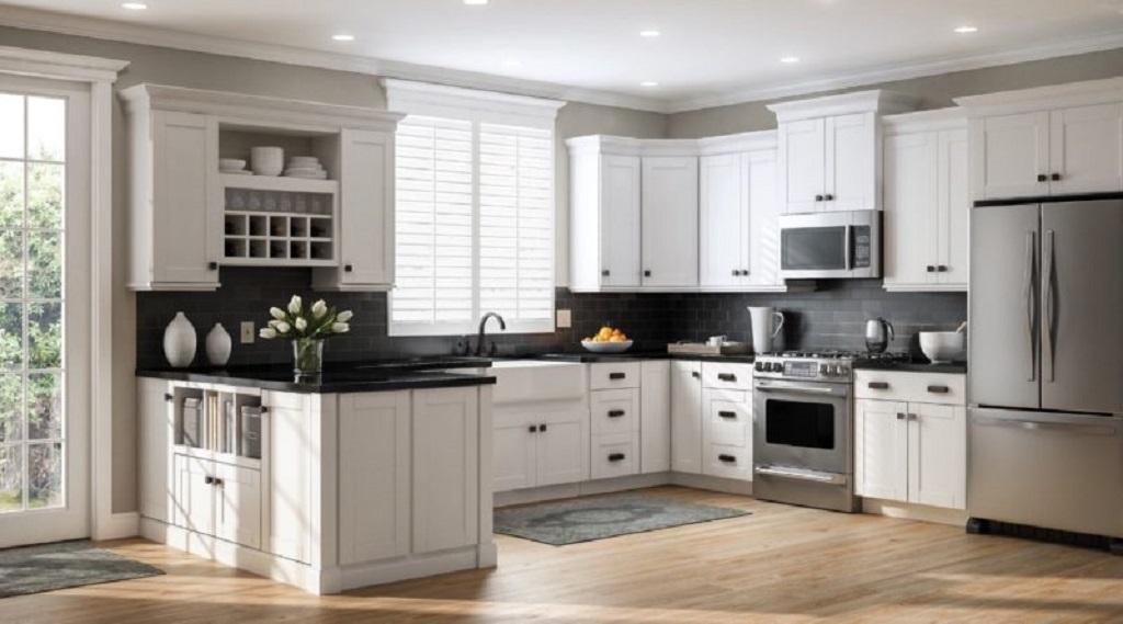 furnish an open kitchen
