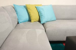 clean a microfiber suede couch