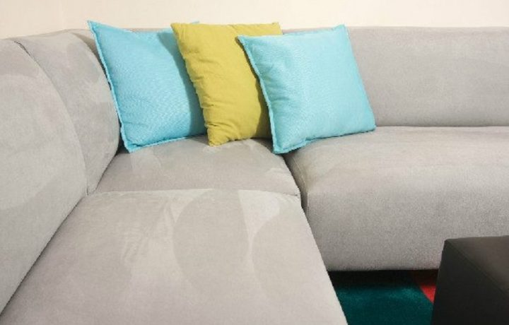 How to clean a microfiber suede couch?